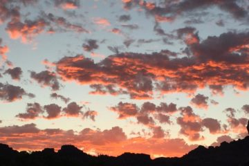Red Cloud Sunset